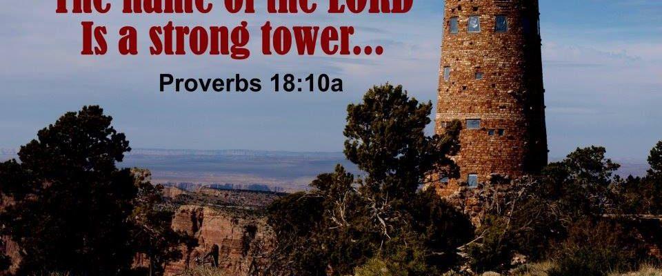 Proverbs 18:10a